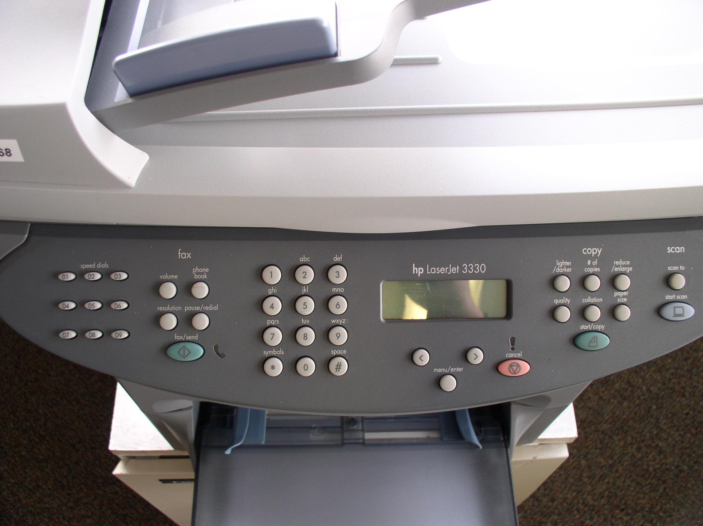 На 3330 принтер hp драйвер